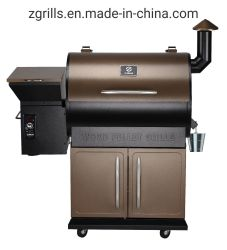 「 Z Grilles High-Grade Wood Pellet Grill Smoker Zpg-700d BBQ Grill 」がある