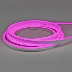 مؤشر LED صغير بتقنية Neon Flex من Tagra® ، منظر علوي مقاس 10X15 مم، وردي