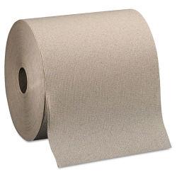 Ultra absorbente comercial Kraft herida duro el rollo de papel toalla