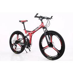 26 インチダブルディスクブレーキマウンテンバイク 21 スピードカーボンスチール自転車