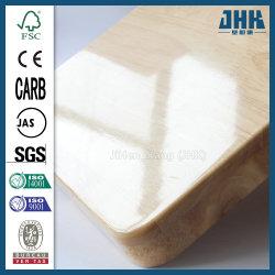 Scheda di legno di legno di gomma del materiale da costruzione di aa ab E0 senza Knotty