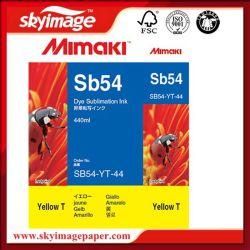 Подлинной основную часть Mimaki Sb54 чернил с термической возгонкой красителя с более высокой плотности