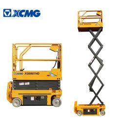 Fabricante XCMG 8m, 10m, 12m 14m 16m novíssimo pequeno Portable Autopropulsores Antena Hidráulica de tesoura de trabalho mesa de elevação do preço da plataforma