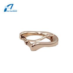 Custom 6# новейшей конструкции кожаная сумка дешевые Gold металлические крепление ремня безопасности плечевой лямки ремня безопасности контакт преднатяжитель плечевой лямки ремня