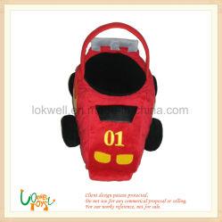 Los niños de felpa del vehículo alquiler de depósito de avión de juguete de peluche