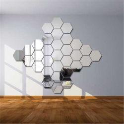 [3د] أكريليكيّ بيتيّة زخرفيّة فنّ مرآة جدار لاصق [3د] جدار لاصق