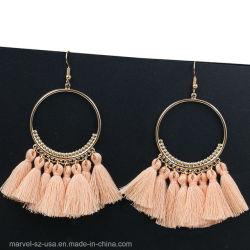 Les femmes Long Drop Earrings fête de mariage cadeau Bijoux Tassel Earrings