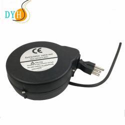 Secador de Pelo el Cable de Extensión del Molinete Cable Retráctil para Secador de Pelo en el Salón
