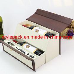 Haut de gamme d'alcool de vin un emballage cadeau Paper Box