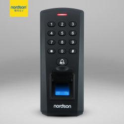 Mot de passe numérique de sécurité du système de contrôle d'accès d'empreintes digitales biométriques avec lecteur de carte