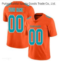 폴리에스테 승화 로고 디자인 럭비 셔츠는 축구 착용을 도매한다