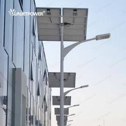 Het Controlemechanisme van de Zonnecellen MPPT van Jinko 60W die Openlucht Zonne LEIDENE van de Batterij Ni-MH TUV van de Straatlantaarn SGS BV GeïnspecteerdeV Fabriek voor Geïntegreerde ZonneLicht verduisteren