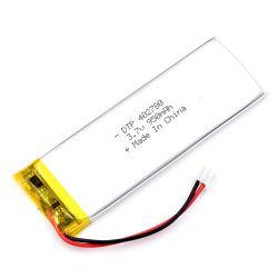 batteria di litio di 3.7V 950mAh 402780 per la videocamera
