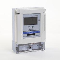 6 Ddsy-2L Monofásico de prepago Monofásico de dos cables del medidor de electricidad de tarjetas IC 100A.