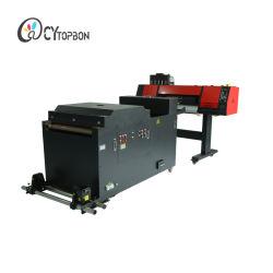 A1 A2 A3 de 60cm Dual I3200 Cabezal de impresión de la DTF Impresora con agitador de polvo para Camiseta Imprimir