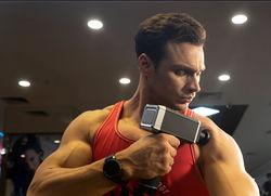 Massajador de mão de equipamento de vibração corporal fáscia muscular Pistola de Massagem