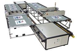 آلة الطباعة على الشاشة آليًا من نوع SPT لمنزلق/قماش/قميص/جراب قصير من خلات فينيل الإيثيلين (EVA)