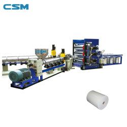 Производство экструзии пластмассовых листов ПЭТ Производственная линия машин с CE