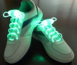 Светодиодная подсветка LED Shoelaces из переработанного нейлона кружевом зерноочистки
