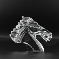 Het aangepaste Dierlijke Kristal van het Glas van de Precisie siert de Transparante Decoratie van Kunsten en van Ambachten