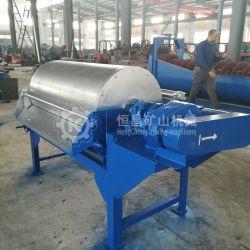 El hierro de la máquina de separación de la ilmenita arena seca separador magnético Drum
