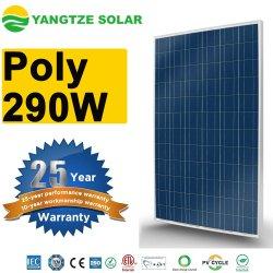 La Chine usine Alimentation directe Yangtze panneau Soalr Poly 290W
