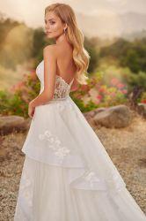 Русалки Puffy свадебные вечерние платья съемные поезд Shimmer устраивающих шарик платье кружево свадебные платья