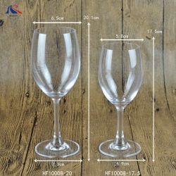 tazza di cristallo di vetro di vino dell'acqua potabile del caffè Stemware del calice di lunghezza di 480ml 800 ml