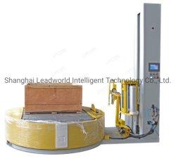 Machine d'étanchéité Bottleturntable palette/carton/film étirable machine de conditionnement de l'enrubanneuse enroulement rétrécissable/emballage Machine d'enrubannage de la machine