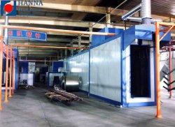 Полностью автоматическая электростатическая порошковая струя/линия нанесения покрытия/завод