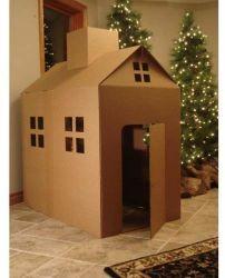Pappschauspielhaus-Ausgangsdekoration-pädagogisches Kind-Spielzeug-fördernde Geschenke