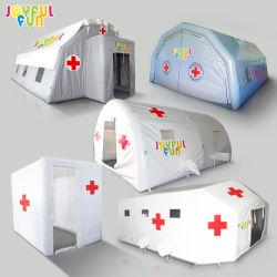 工場高品質PVC気密の膨脹可能な緊急のレスキュー災害救助の隔離の処置の病院の医学の小型テント