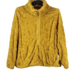 Dames Kleding Vrije tijd Kleding Custom Full Zip Dimond Sewing Double Shu Velveteen Flannel winterjassen