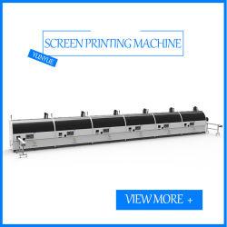 Stampante trattata dello schermo del torchio tipografico dello schermo di sei colori della bottiglia automatica UV della stampatrice per le bottiglie di plastica di vetro