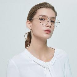 Fantastische Augen-Glas-optische Abnützung der LuxuxHigo Verordnung-Rahmen-Brille-Edelstahlmens-Frauen
