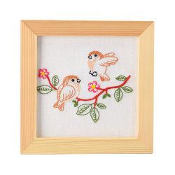 DIY borduurwerk met Frame Cross Stitch Naaikit
