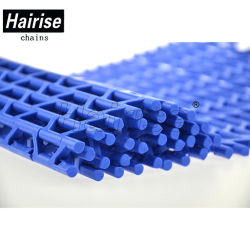 Hairise 7940 Grade embutida de plástico da correia transportadora modular