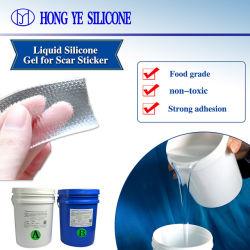 Silicone trasparente per alimenti trattamento medico resistente autoadesivo permeabilità all'umidità Adesivo Scar Sezione Cesarean