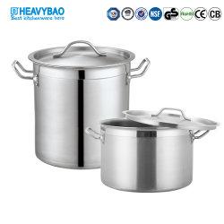 [هفبو] فندق تموين تجهيز [ستينلسّ ستيل] حساء وعاء صندوق
