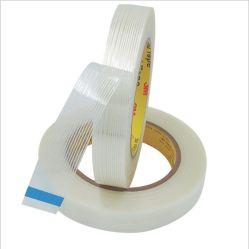 Los flejes reforzado de fibra de vidrio Jlt-698 Cinta de embalaje de adherencia sustituir 3m 898
