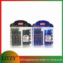 Borrar de la Oficina de plumas la varilla de un bolígrafo borrable Magic Pen 0.5mm recarga de tinta negro azul escrito Don materiales escolares