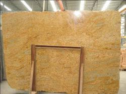 Het natuurlijke opgepoetst/geslepen/gevlamd/Geborsteld goud van Kashmir van de Steen gele/zwarte/grijze Graniet voor vloer/muur/openluchtplakken/tegels/countertops/treden/vensterbanken/kolom/betonmolens