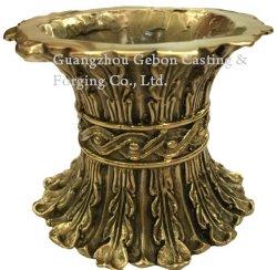 家具の黄銅のために砂型で作るカスタマイズされた黄銅によって失われるワックスの鋳造の黄銅は芸術のクラフトの装飾の黄銅の部品を分ける