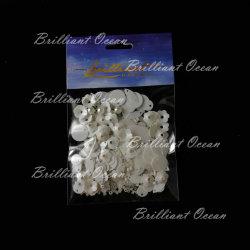 さまざまな形の衣類の装飾のための白いきらめきのスパンコール