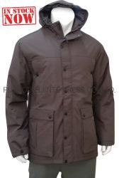 공장 재고 남자의 겨울에 의하여 덧대지는 방수 외투 재킷