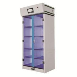 Armário para armazenamento de filtrado de produtos químicos de laboratório
