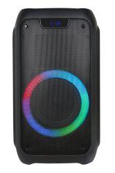 Factory Private Design Simple Style Audio Stereo PRO Wireless와 함께 제공됩니다 배터리 핸드헬드 Bluetooth 휴대용 파티 박스 스피커(LED 조명 포함
