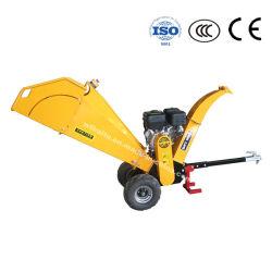 CE certifié de l'essence Chipper Shredder Mulcher pour jardin, déchiqueteuse découpeuse à bois de la machine de prise de force