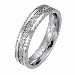 18K Gold покрытие серебра 925 украшения серебристые два кольца