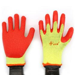 Latex Tien - het Garen van de Speld - de Doordrongen Handschoenen van het Werk van de Arbeid Beschermende